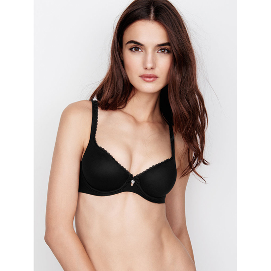 VICTORIA\'S SECRET NEW! Unlined Demi Bra Black Outlet Store