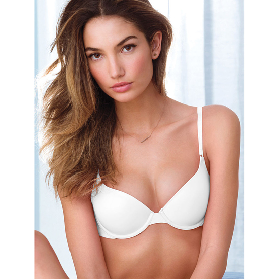 VICTORIA\'S SECRET Demi Bra White Outlet Store
