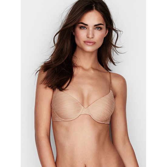 VICTORIA\'S SECRET NEW! Demi Bra Nude Marl Outlet Store