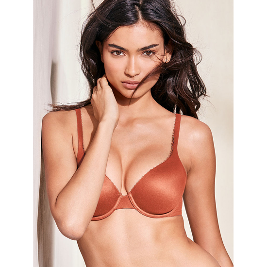 VICTORIA\'S SECRET NEW! Perfect Coverage Bra Ginger Glaze Outlet Store