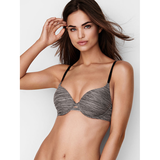 VICTORIA\'S SECRET Perfect Shape Bra Black Marl Outlet Store
