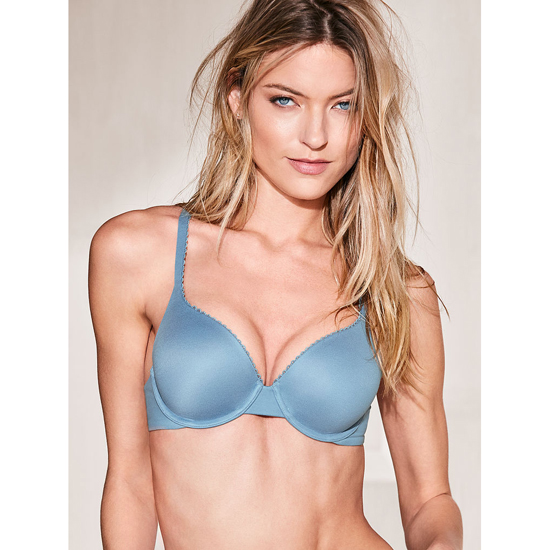 VICTORIA\'S SECRET Perfect Shape Bra Faded Denim Outlet Store