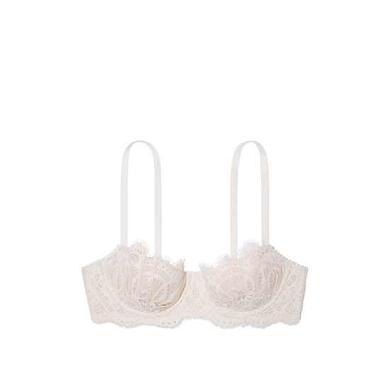 VICTORIA\'S SECRET The Unlined Uplift Bra Coconut White Outlet Store