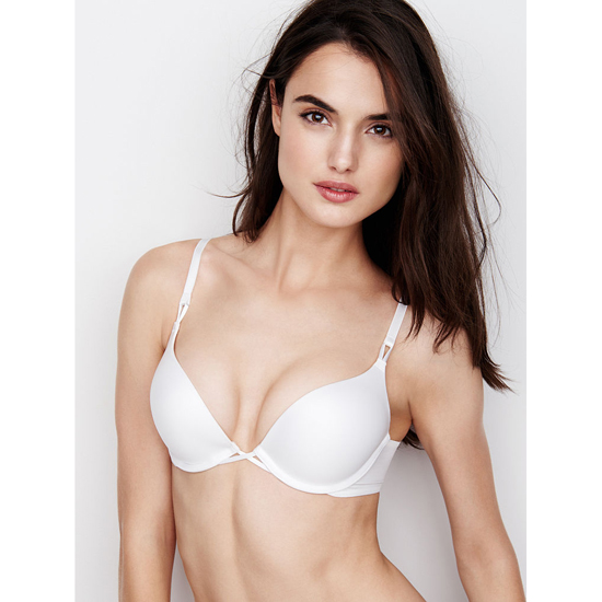 VICTORIA'S SECRET NEW! Add-2-Cups Push-Up Bra White Outlet Store