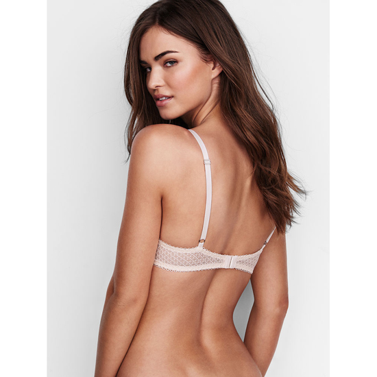 VICTORIA\'S SECRET NEW! Push-Up Bra Coconut White Solid Lace Outlet Store