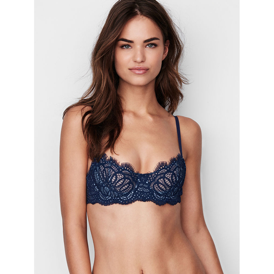 VICTORIA'S SECRET NEW! The Unlined Uplift Bra Ensign Lace Outlet Store