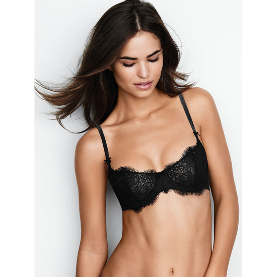 VICTORIA'S SECRET NEW! The Unlined Uplift Bra Black Lace Outlet Store