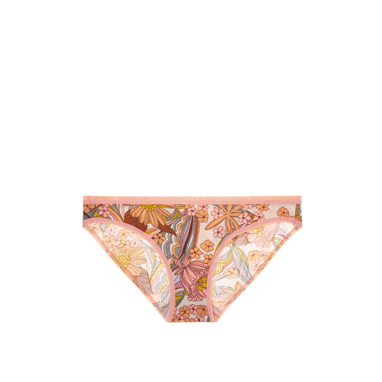 VICTORIA\'S SECRET Low-rise Bikini Panty Summer Florals Print Outlet Store