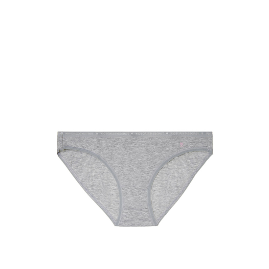 VICTORIA'S SECRET Low-rise Bikini Panty Heather Grey Outlet Store