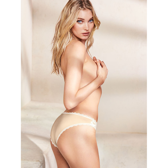 VICTORIA\'S SECRET NEW! Cheekini Panty Champagne Outlet Store