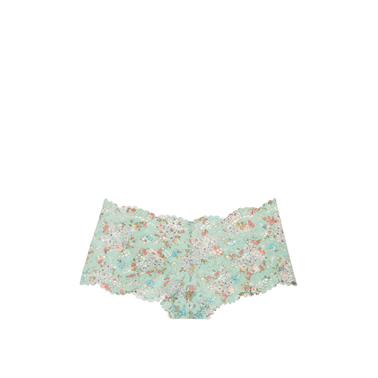 VICTORIA\'S SECRET NEW! The Floral Lace Sexy Shortie Silver Sea Printed Lace Outlet Store