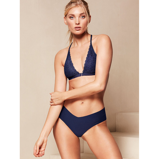 VICTORIA\'S SECRET Raw Cut Hiphugger Ensign Blue Outlet Store