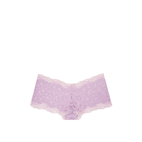 VICTORIA\'S SECRET NEW! The Floral Lace Sexy Shortie Fair Orchid Outlet Store