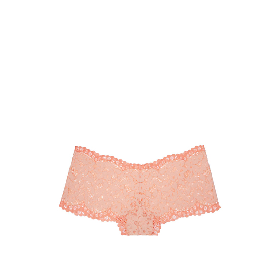 VICTORIA'S SECRET NEW! The Floral Lace Sexy Shortie Peach Melba Outlet Store