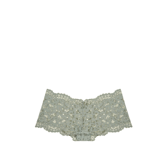 VICTORIA\'S SECRET NEW! The Floral Lace Sexy Shortie Silver Sea Outlet Store