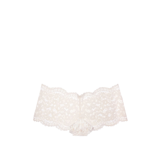 VICTORIA'S SECRET The Floral Lace Sexy Shortie Coconut White Outlet Store