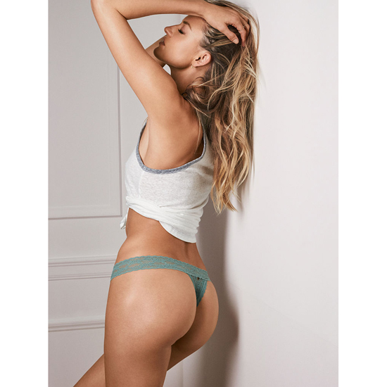 VICTORIA\'S SECRET Thong Panty Silver Sea Outlet Store