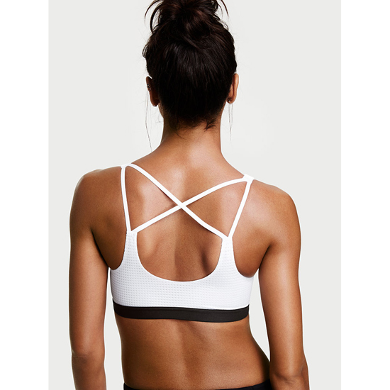 VICTORIA\'S SECRET NEW! Lightweight by Victoria Sport Bra White Outlet Store