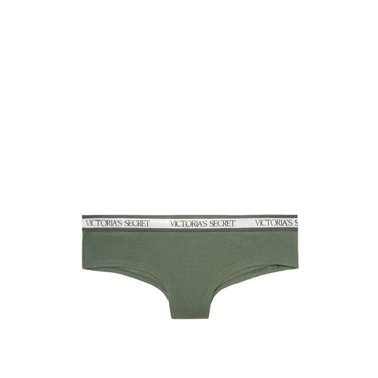 VICTORIA'S SECRET NEW! Bold Logo cheeky Panty Cadette Green Outlet Store