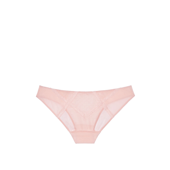 VICTORIA\'S SECRET NEW! Lace & Mesh Cheekini Panty English Rose Outlet Store