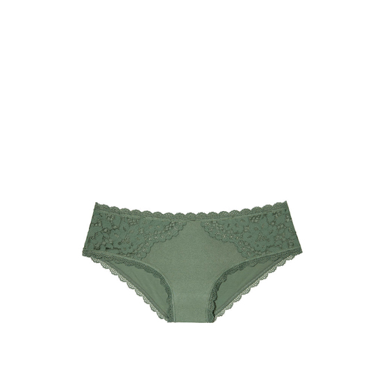 VICTORIA'S SECRET NEW! Lace Hiphugger Panty Cadette Green Outlet Store