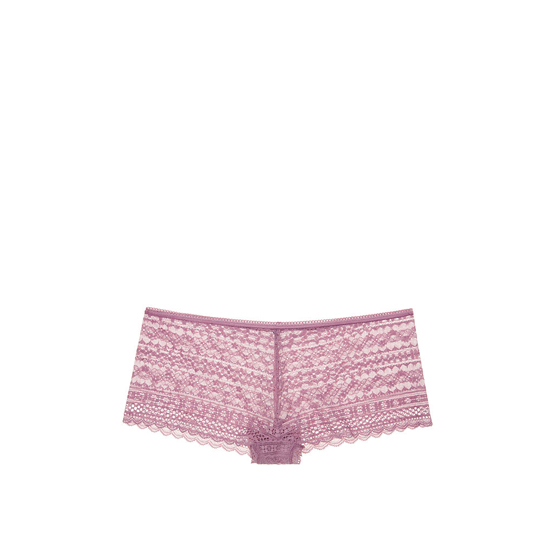 VICTORIA\'S SECRET NEW! Lace Shortie Panty Gentle Mauve Outlet Store