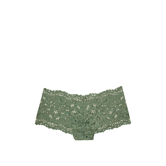 VICTORIA'S SECRET The Floral Lace Sexy Shortie Cadette Green Outlet Store