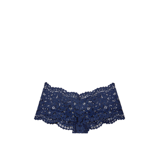VICTORIA'S SECRET The Floral Lace Sexy Shortie Ensign Blue Outlet Store