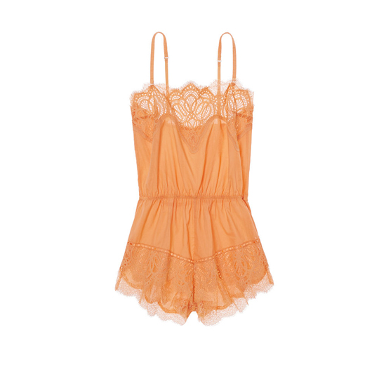 VICTORIA\'S SECRET NEW! Crochet Lace Romper Gold Earth Outlet Store