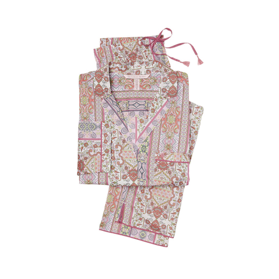 VICTORIA'S SECRET NEW! The Mayfair Pajama Pink Paisley Stripe Outlet Store