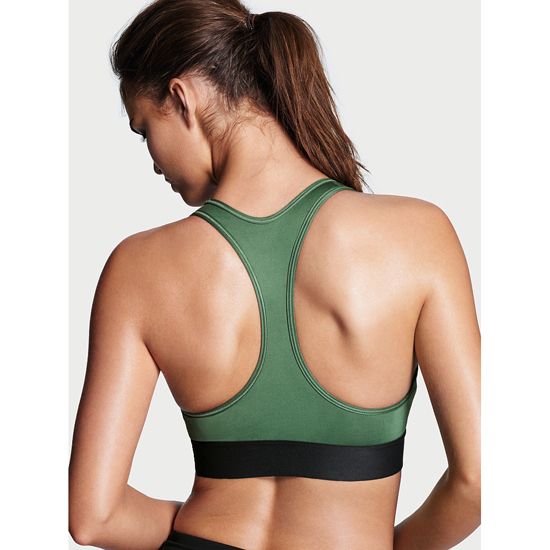VICTORIA'S SECRET NEW! The Player by Victoria Sport Racerback Sport Bra Green Outlet Store